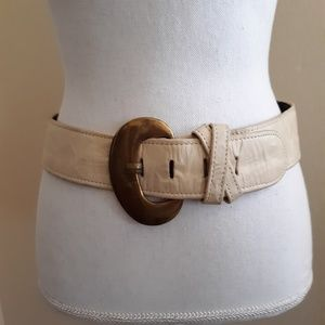 Accessories by Marla | vtg 90's wide leather belt